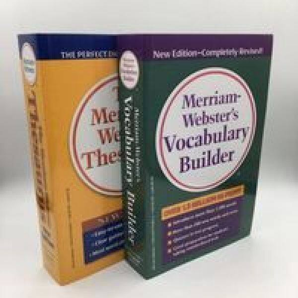 The Merriam-Webster Synonymous Antisense Dictionary Wei Huang English Original + Merriam-Webster zi gen Root Dictionary Wei Green English