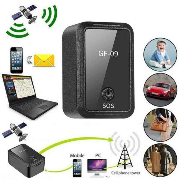 Thiết bị theo dõi GPS Cỡ Nhỏ GF-09, thiết bị định vị GSM GPRS điều khiển từ xa thiết bị chống trộm Thiết bị theo dõi GPS thu âm từ xa