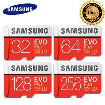 Samsung Micro การ์ด SD EXO + 100 เมกะไบต์/วินาที 256 กรัม 128 กิกะไบต์ 64 กิกะไบต์ 32 กิกะไบต์ Class10 U3 U1 SDXC เกรด TF การ์ดหน่วยความจำการ์ดแฟลช-