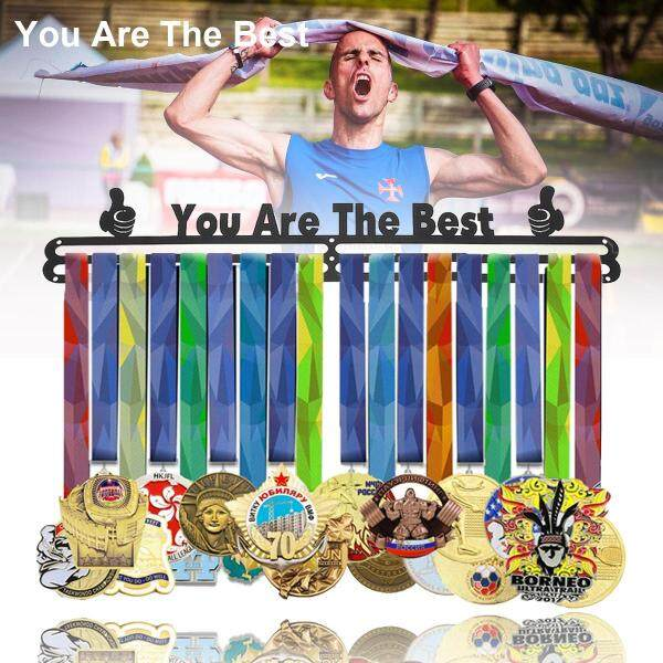Sport Race Medal Hanger Running Swimming Gymnastics Medal Holder Rack Display Gift for Man
