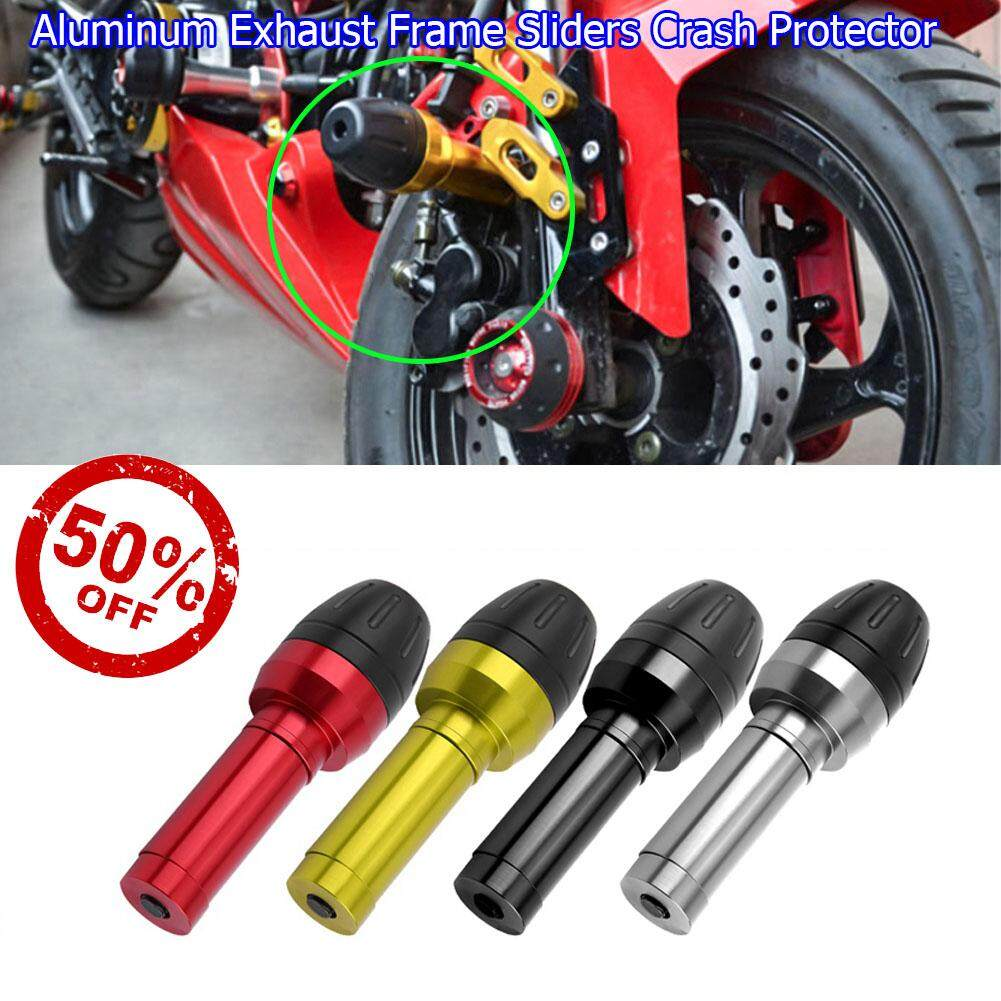 【50%OFF!!!+ Limited Offer!!!】Aluminum Exhaust Frame Sliders Crash Protector  for Kawasaki Z900 Z800 Z1000 ZX10R
