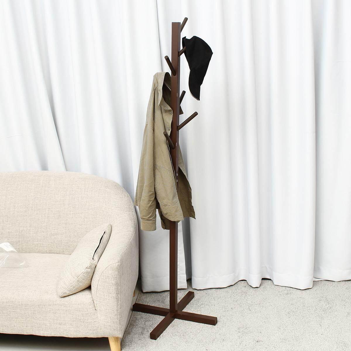 Miraculous Mu Ma Ren Simple Solid Wood Floor Coat Rack Living Room Bedroom Hanger Storage Rack Sizea Renting Decoration Download Free Architecture Designs Rallybritishbridgeorg