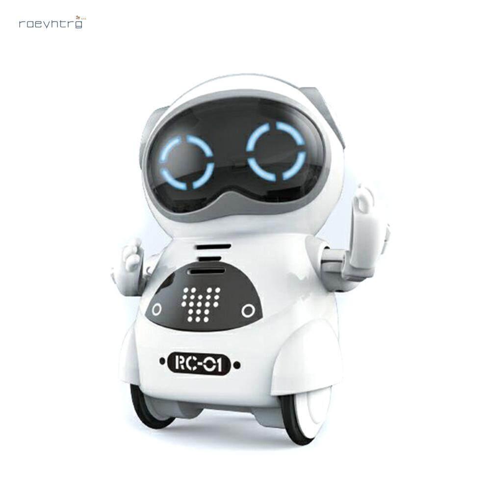 Rae Bỏ Túi ROBOT Mini Robot Đồ Chơi Quà Tặng Nói Tương Tác Đối Thoại Nhận Dạng Giọng Nói Ghi Ca Hát Nhảy Múa Robot Thông Minh Có Thể Được Chụp Bất Cứ Nơi Đâu. Giá Cực Ngầu
