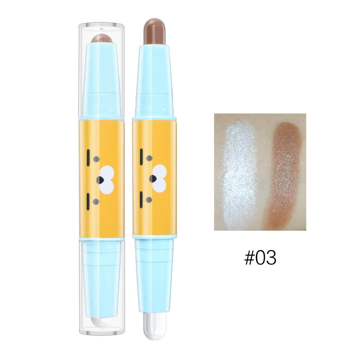 Hengfang Double Head 3d Bronzer Highlighter Face Concealer By Barbiecosmetic.