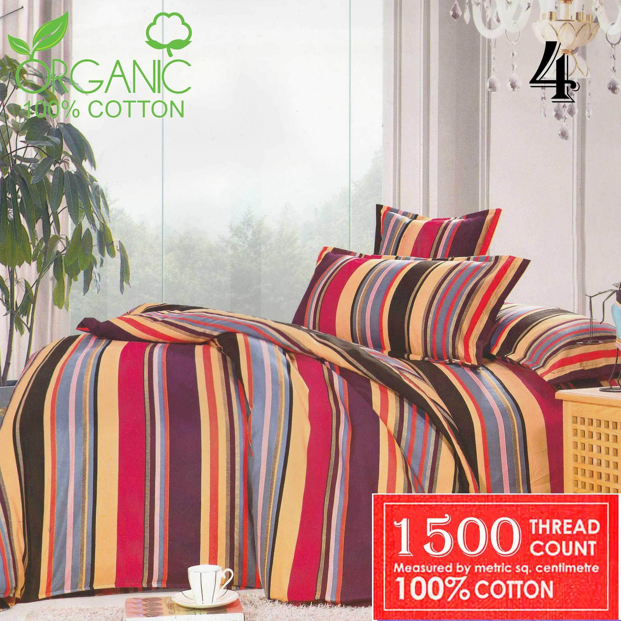 Comforter Set Queen Fitted Xqc 4 / Cadar Tilam / Bedsheet/blanket/selimut By Lazleep29.