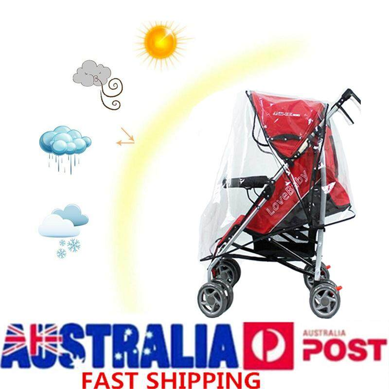 Babyzen Yoyo+ 6+ Lightweight Stroller Pushchair Rain Cover / Wind Protector By Audew.