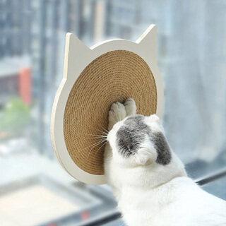 Bảng Cào Cho Mèo Salu, Miếng Cào Móng Gỗ Bảo Vệ Mat Vật Nuôi Kitten Đào Tạo Leo Núi Khỏi Bị Trầy Xước Đồ Chơi Đồ Nội Thất Bảo Vệ thumbnail