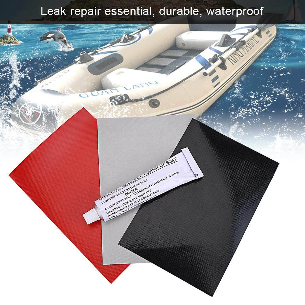 3pcs PVC Repair Patches with Gule Set Kit for Inflatabel Raft Swimming Pool  Toy