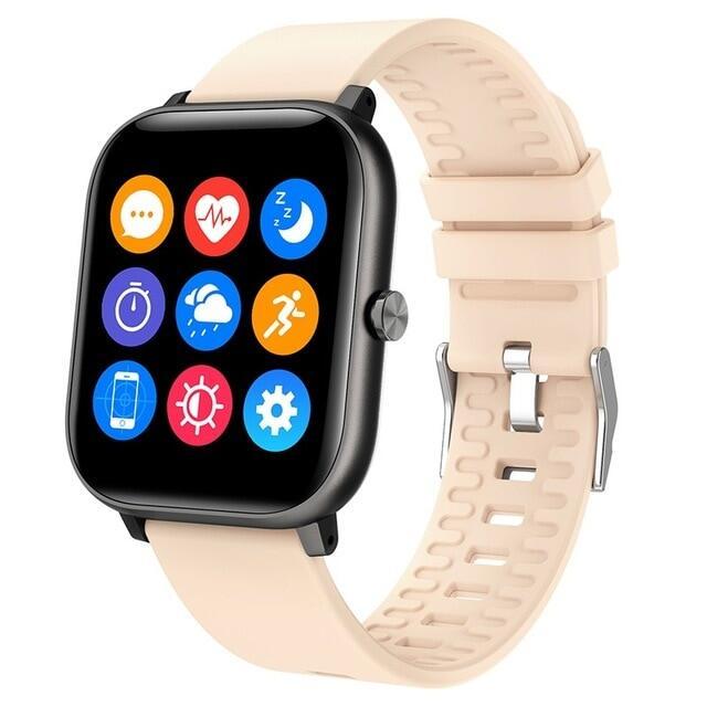 2021 Thông Minh Đồng Hồ, Hoạt Động Tập Thể Dục Pedometer Thiết Bị Theo Dõi Giấc Ngủ Nhịp Tim Sức Khỏe, Đồng Hồ Thể Thao Chống Nước Ip67 Cho Nam Nữ Smartwatch