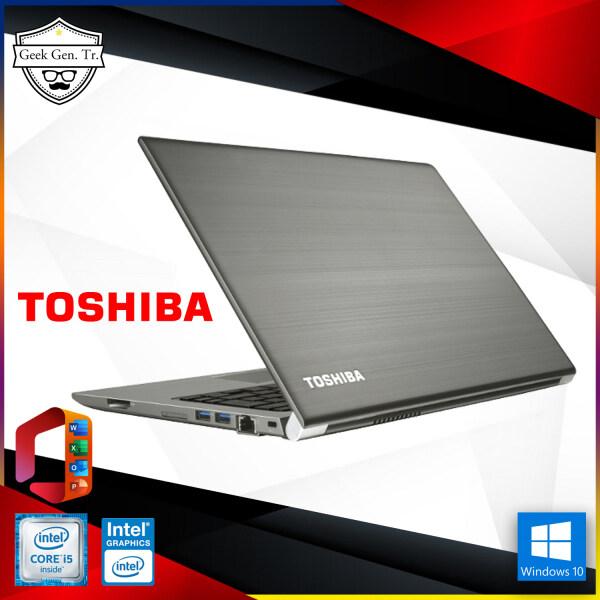 Toshiba Portégé Z30-C - 13.3 - Core i5 6300U - 8 GB RAM - 128 GB SSD ( windows 11 supported ) TPM 2.0 Malaysia