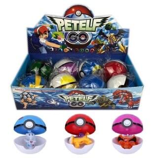8Pc Đồ Chơi Hoạt Hình Hình Pokemon Pokeball Pop-Up Bóng Đồ Chơi Quà Tặng thumbnail