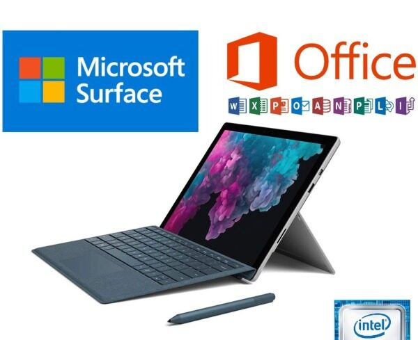 Microsoft SURFACE PRO 5 ,12.3 inch Touch Screen  7th GEN intel Core Processor  2-in-1 detachable (1.0 to 2.6 GHz) + Microsoft Type Cover Keyboard +(OPTIONAL FOR PEN) BEST FOR ONLINE Malaysia