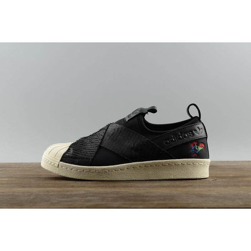 SLK_Original_★_Adidas_Originals_Superstar_Slip_On_Rooster_women_men_low_tops_shoes