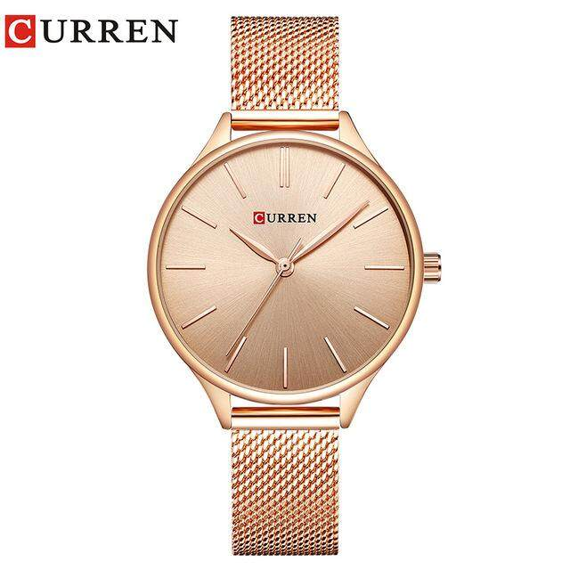 Fashion Simple Style New Watches Women Dress Wristwatch Quartz Female Clock 9024 Malaysia