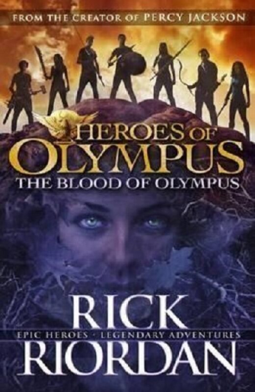 (MPH) The Blood Of Olympus (Heroes Of Olympus Book 5) ISBN:9780141339245 By Riordan, Rick Malaysia