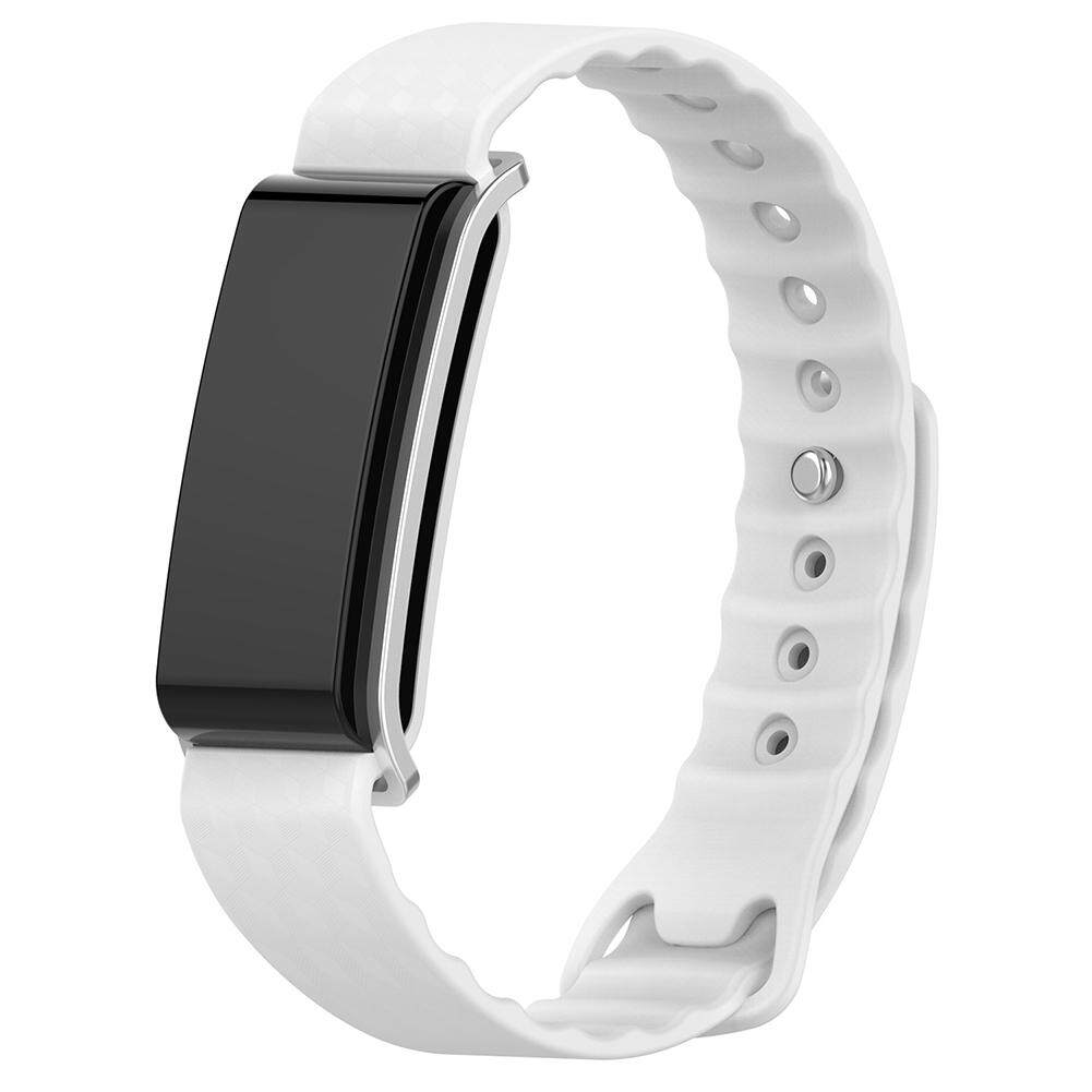 Broadfashion Replacement Sports Watch Band Strap Durable Bracelet for Huawei A2 Tracker (White) Malaysia