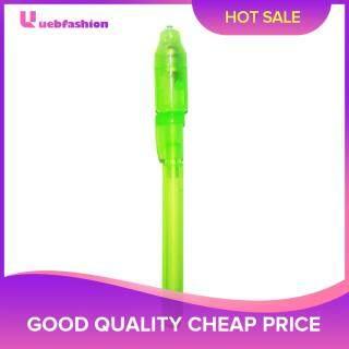 Bút Mực Vô Hình Ánh Sáng Dạ Quang 2 Trong 1 Bút Vẽ Ma Thuật Kiểm Tra Tiền UV thumbnail