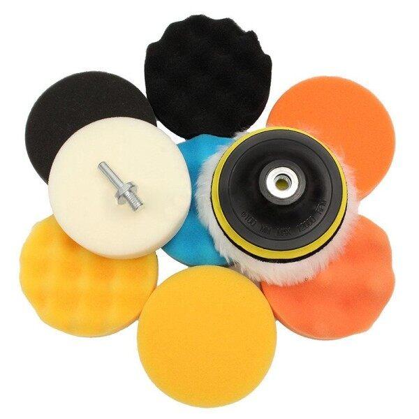 Parts Polishing Pads Reusable Wool Adhesive Power Tools Spare Home Supplies Set Kit Sponge