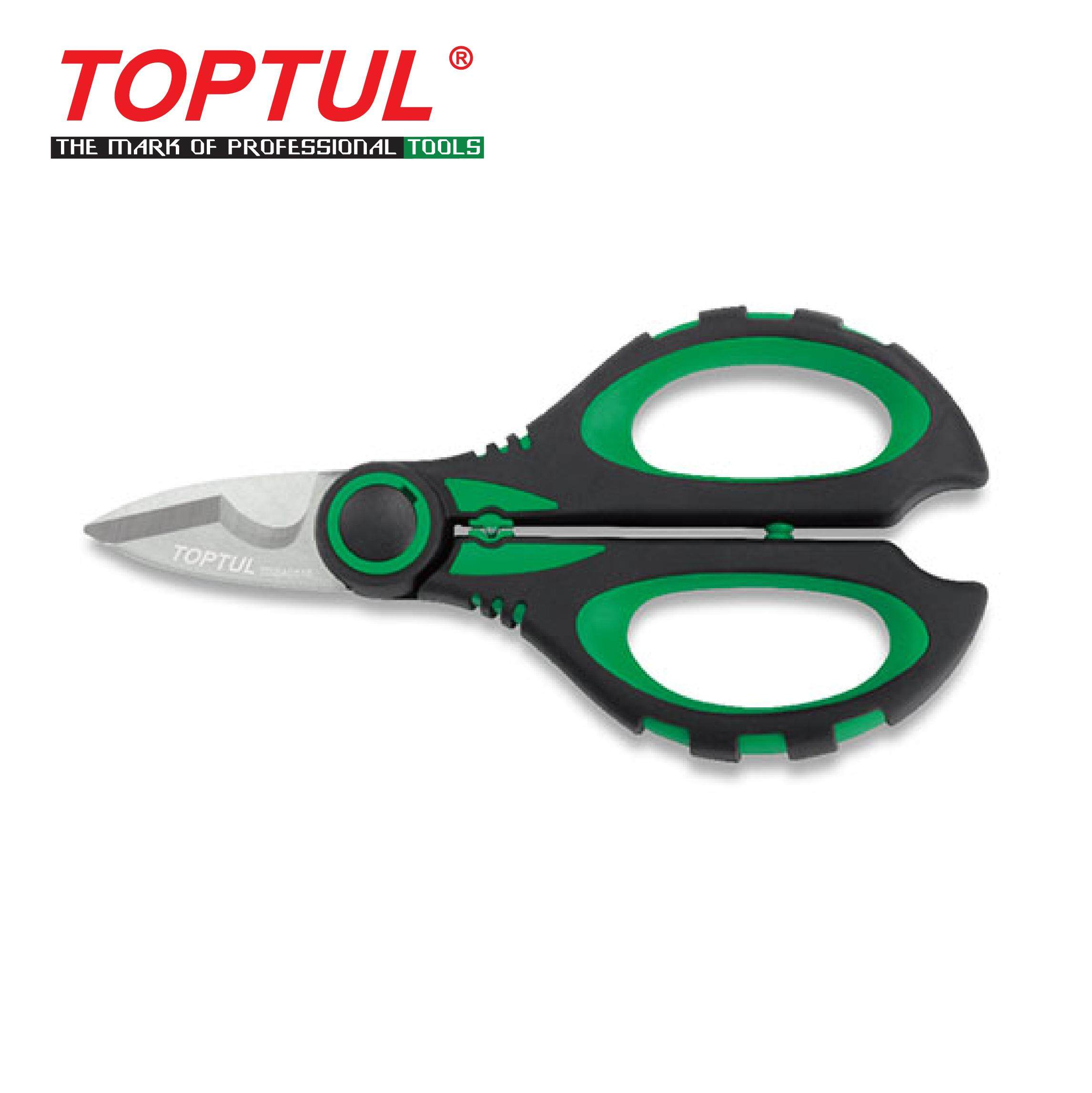 TOPTUL Heavy Duty Multi-Purpose Electricians Scissors (SBBA0516)