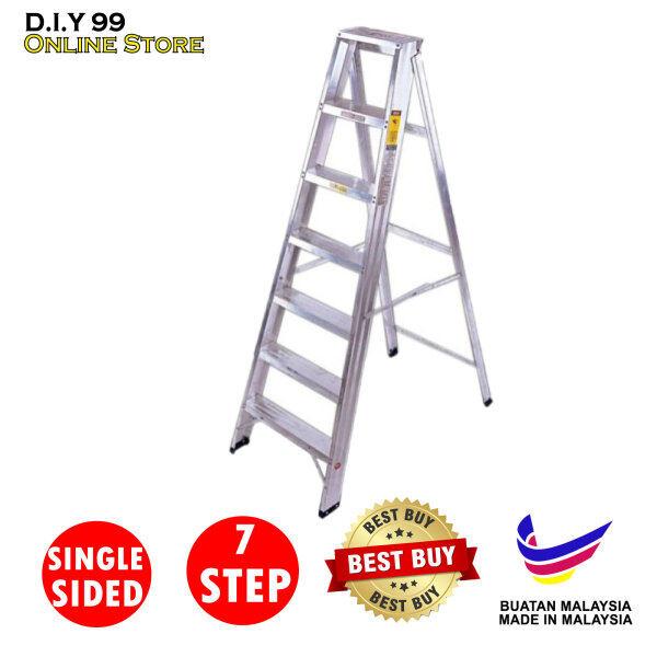 TG Ladder 7 STEP SINGLE SIDED ALUMINIUM LADDER / Tangga Aluminium 7 langkah