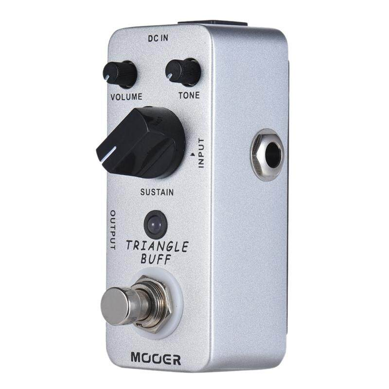 MOOER Triangle Buff Fuzz Guitar Effect Pedal True Bypass Electric Guitar Pedal Full Metal Shell Guitar Parts & Accessories