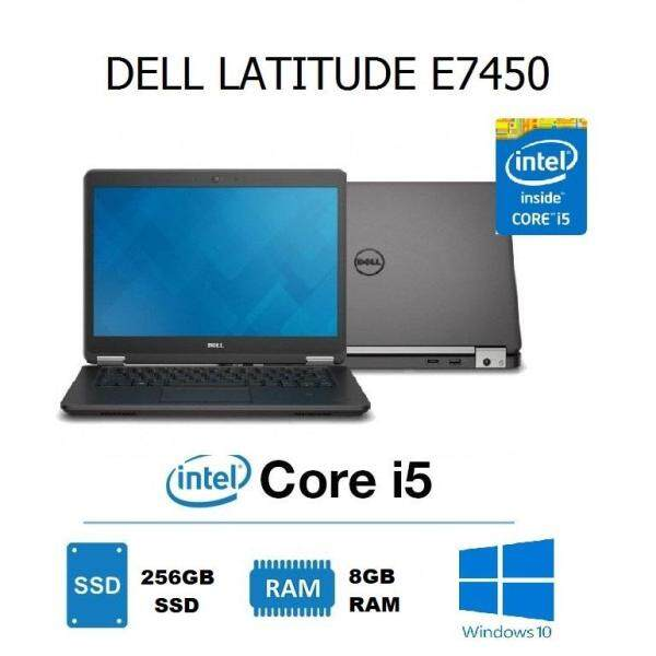Dell Latitude E7450 Ultrabook Laptop (Intel Core i5-5th Gen / 8GB RAM / 256GB SSD / 14.0 inch HD) Malaysia