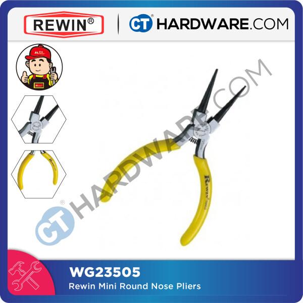 Rewin WG23505 Mini Round Nose Pliers