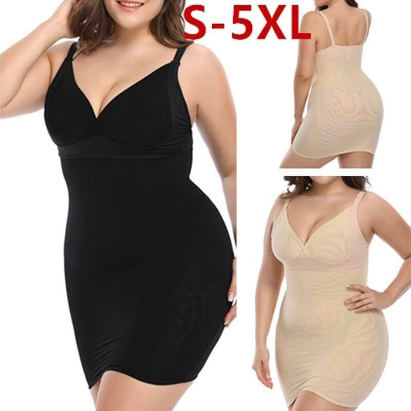 547da7a1c Product details of Sexy Deep V Neck Body Shaper Control Slips Butt lifter  Wait Trainer Slimming Underwear Corset Dress Backless Shaperwear
