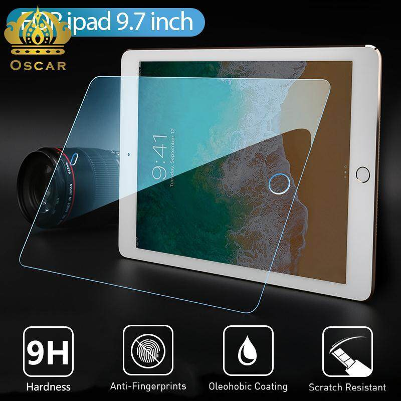 Oscar Toko Baru Ipad 9.7 6th 9 H Anti Cahaya Biru 9.7 Inci 2.5D Tepi