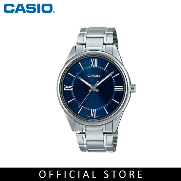 Casio General MTP-V005D-2B5 Silver Stainless Steel Band Men Watch Malaysia