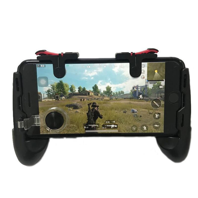 Tay Cầm Chơi Game PUBG Moible Kích Hoạt L1 R1 Free Fire, Bảng Trò Chơi Di Động PUGB Grip L1R1 Phím Điều Khiển Dành Cho Điện Thoại iPhone Android