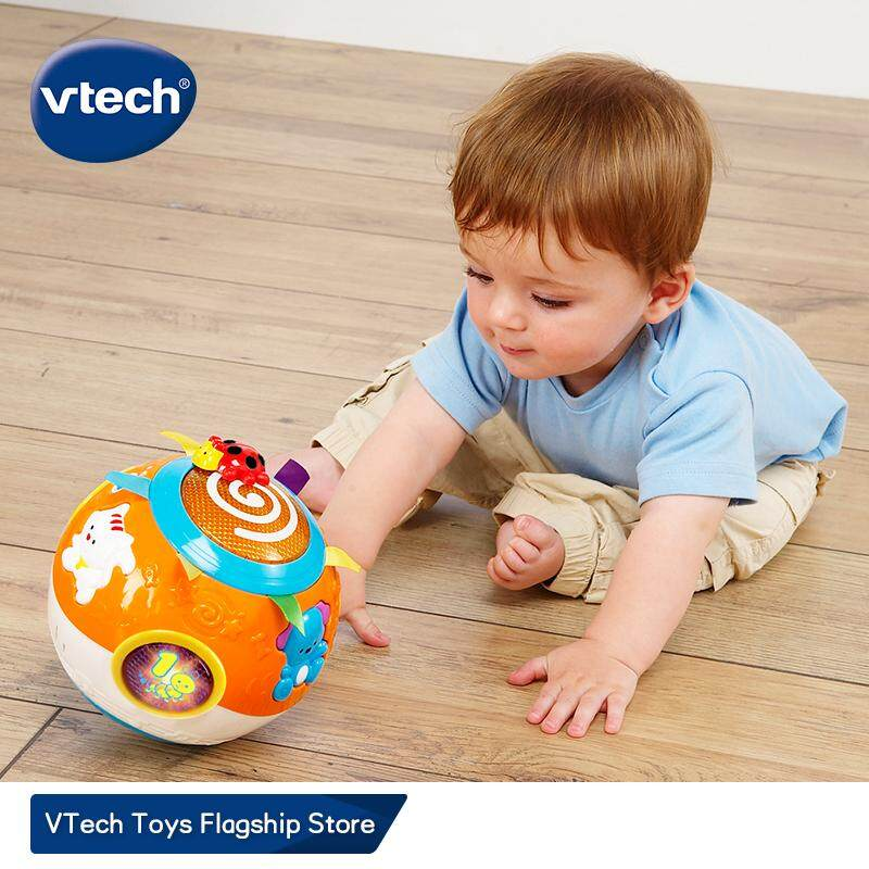Move and Crawl BABY BALL VTech Toys for 6 9 12 Months 1 Year Old Self-Rolling