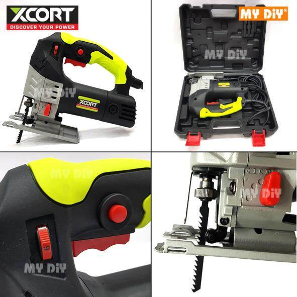 MYDIYHOMEDEPOT - XCORT Jig Saw Machine 650w With PVC Case / Electric Jigsaw Machine