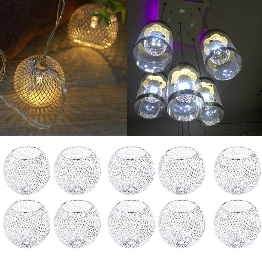 Perfk 10x Hanging Ceiling Lamp Shade Light Easy Fit Pendant LED Lampshade