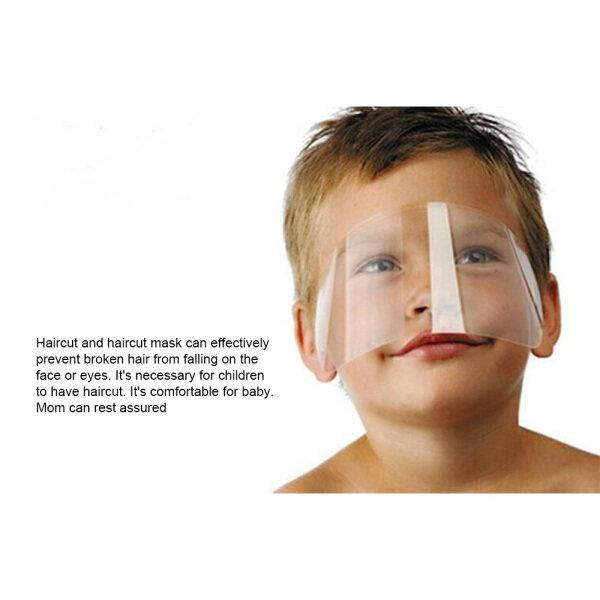 50 Cái Dùng Một Lần Mặt Shield Trong Suốt Hairspray Shield Ma-sk Trang Điểm Protector Tóc Trim Mặt Shield cao cấp