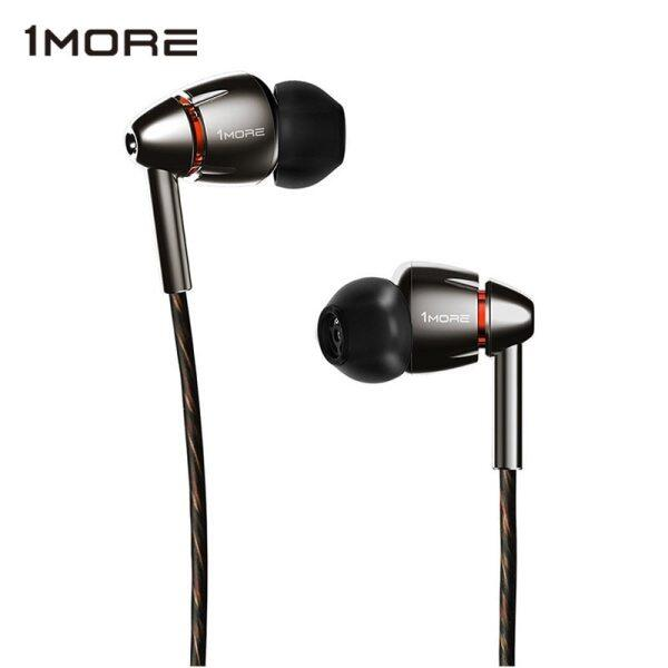 1MORE E1010 Quad Driver In-Ear Earphone with Mic HiFI Hi-Res Earbuds Earphones Headset for Apple Android Xiaomi Phone Singapore