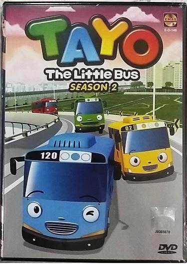 Tayo The Little Bus Season 2 (eps 14~26 End) Dvd Children Cartoon By Matahari59.