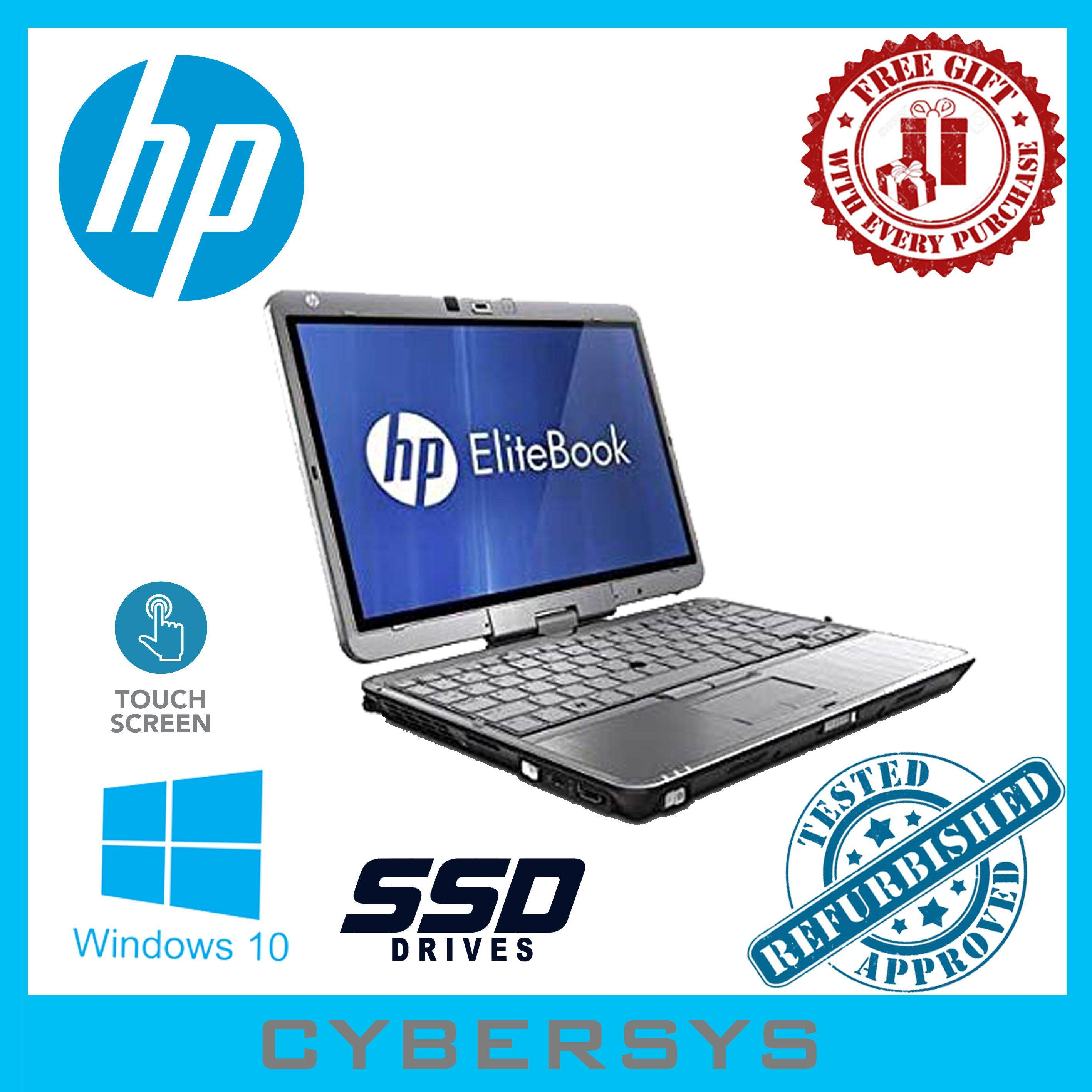 HP Elitebook Intel Core i7 8GB 128GB SSD Laptop Notebook (Refurbished) Malaysia