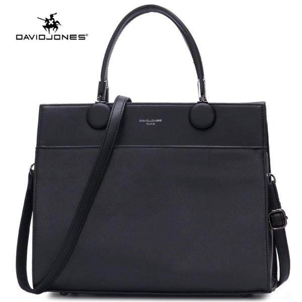 David Jones Paris women tote bag pu leather female top-handle bag large lady shoulder bag