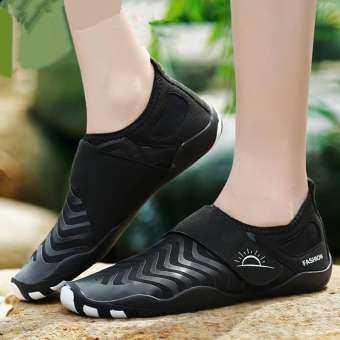 Wanita Sepatu Luar Ruang Yang Sejuk Air Sepatu Renang Sepatu SLIP - ON Sepatu โยคะ Cepat KERING untuk Pria Hulu trekking Sepatu รุ่น Kaki Berjari Sepatu Berkendara-