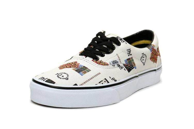 409c2c8a09 Vanse Official Skate Shoes WOMEN Vanse x A Tribe Called Quest Black White  Global Sales