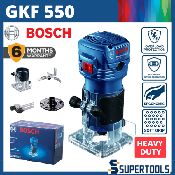 Bosch GKF550 Professional Palm Router Woodworking Electric Router Trimmer