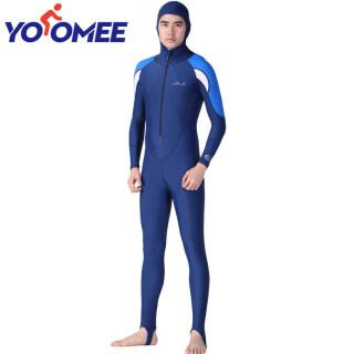 Áo Quần Lặn Yoomee Đồ Bơi Đồ Bơi Đồ Bơi Lycra Stinger Với Mũ Lặn Toàn Thân Áo Liền Quần Cho Nam Nữ thumbnail