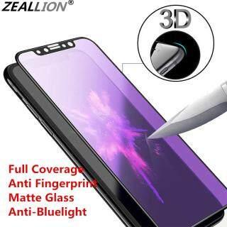 Màng Bảo Vệ Zeallion Cho [Xiaomi Mi 6X 6 Pro 8 5X 8 A2 F1 Mix 2S 3 9 Se CC9 CC9e A3 9T 9X Lite] Miếng Dán Bảo Vệ Toàn Màn Hình Chống Ánh Sáng Xanh + Kính Cường Lực AG Mờ 9H thumbnail