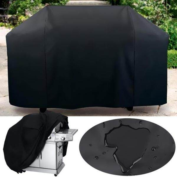 (READY STOCK) Large BBQ Raincover XL Size - Waterproof Barbecue Grill Dust Protector Polyester Rain Cover (XL) 190 x 71 x 117cm