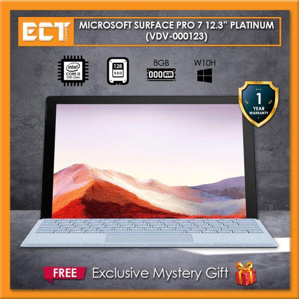 Microsoft Surface Pro 7 VDV-00012 12.3 (i5-1035G4 3.70GHz,128GB SSD,8GB,W10) - Platinum Malaysia