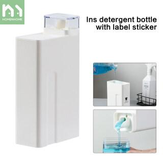 Homenhome Chai Rỗng Đựng Chất Tẩy Giặt Công Suất Lớn Quần Áo Bình Thay Thế Gel Tắm Dầu Gội Làm Mềm Phòng Tắm thumbnail