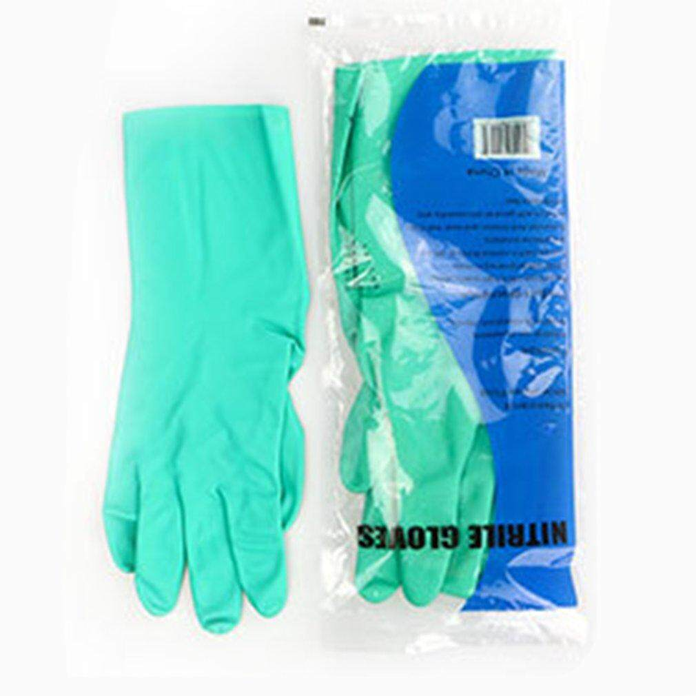 Crazy Sale 1 Pair Acid Alkali Resistant Gloves Waterproof Thicker Chemical