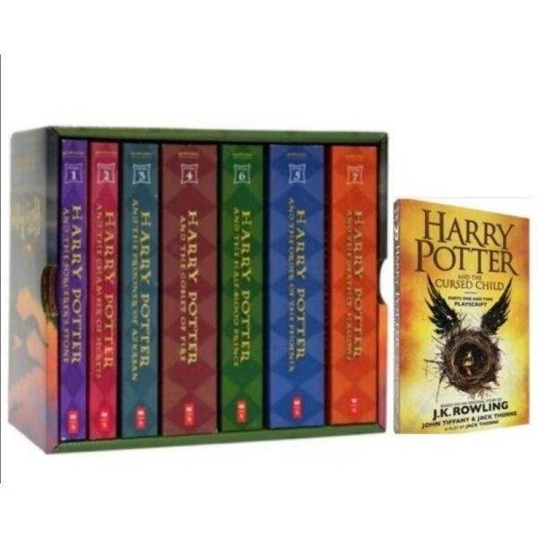 Harry Potter 8 books Malaysia