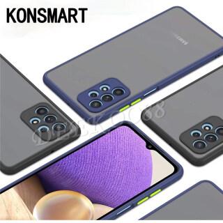 KONSMART Điện Thoại Di Động Trường Hợp, Ốp Bảo Vệ Ống Kính Máy Ảnh Samsung Galaxy A72 A52 A32 4G Ốp Lưng Nhựa PC Mờ Trong Suốt Sang Trọng Cho SamsungA72 SamsungA52 5G SamsungA32 5G Vỏ thumbnail